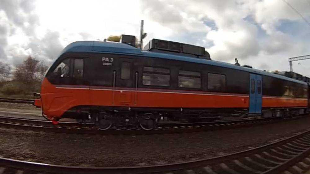 В Брянск пришли современные пригородные поезда