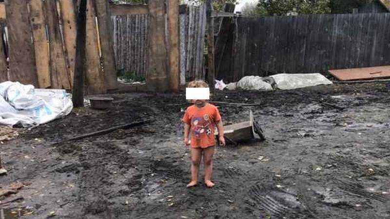 Жителей Брянска поразила голая цыганская девочка на улице