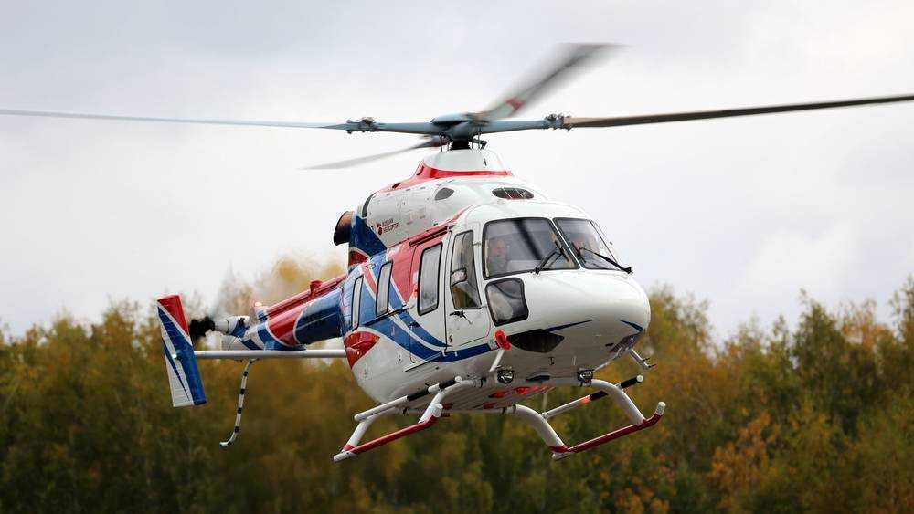 Санитарный вертолет доставил больного мальчика из Новозыбкова в Брянск