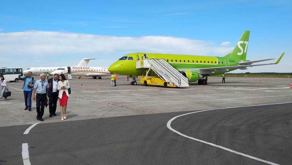 Брянский аэропорт перевез 50000-го авиапассажира