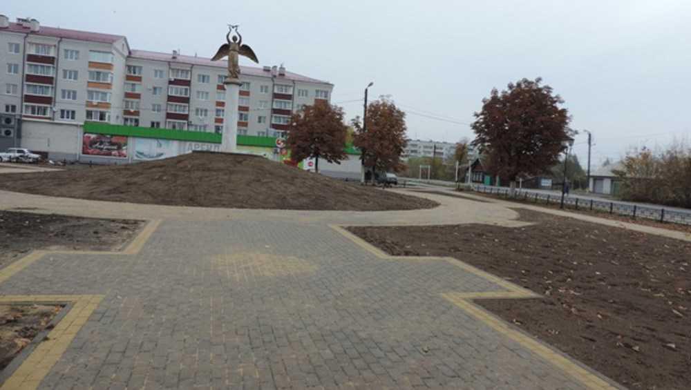 Над Новозыбковом засиял обновленный «Ангел мира»