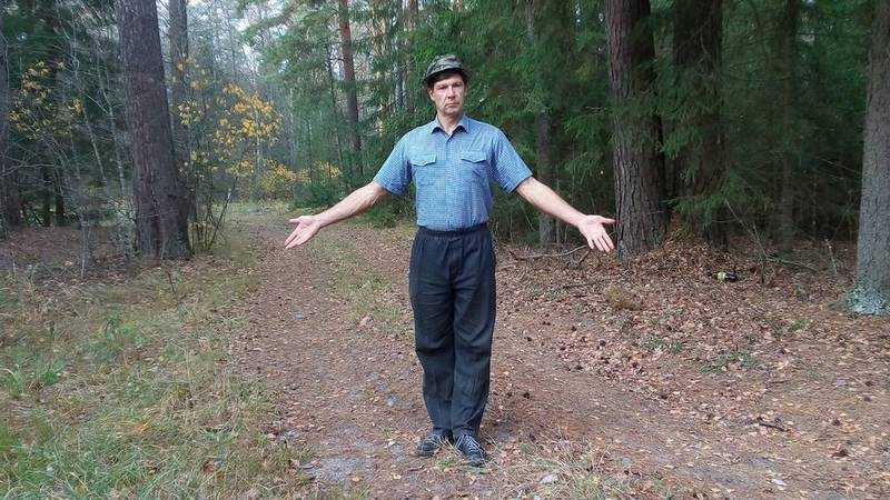 Самому неугомонному жителю Брянска в лесу показали крепкие зубы