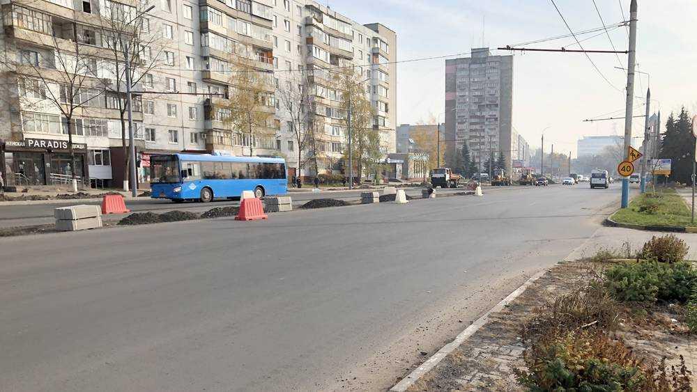 В Брянске возобновили движение троллейбусов по Авиационной улице