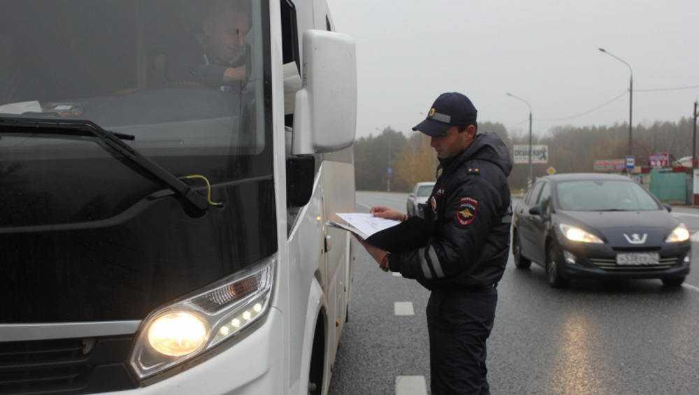 В Брянске за месяц выявили 4500 нарушений водителями автобусов и фур