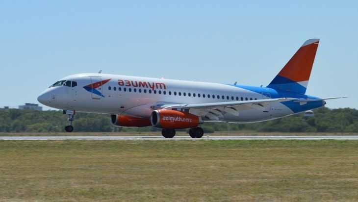 Самолёт из Краснодара не смог приземлиться в Брянске из-за тумана