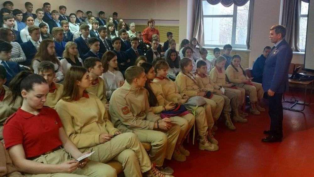 Участник штурма в Беслане встретился с брянской молодежью