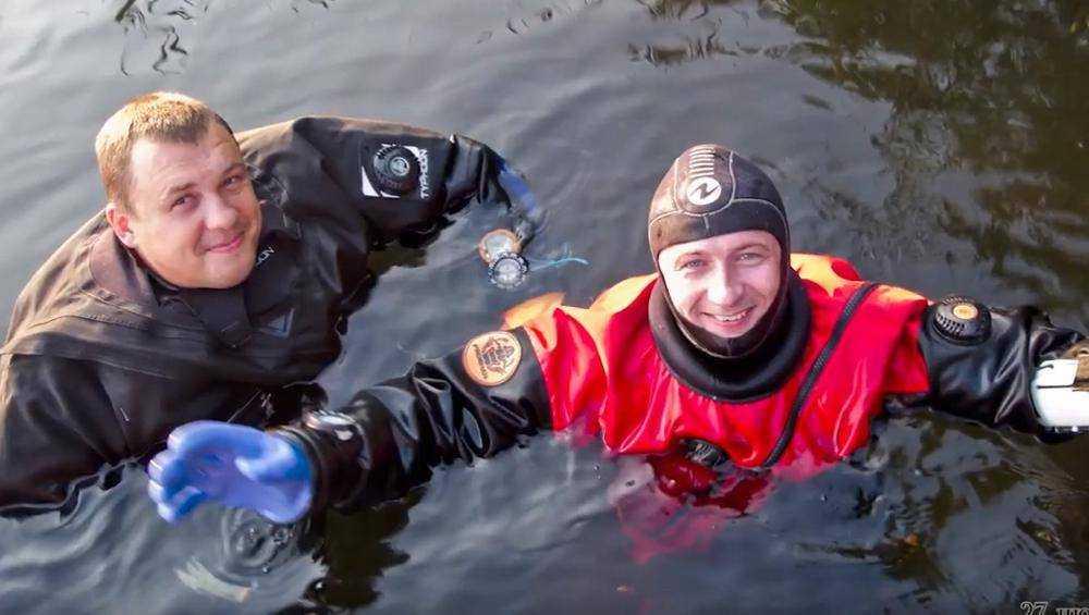 Брянские дайверы сняли фильм о подводных красотах Круглого озера