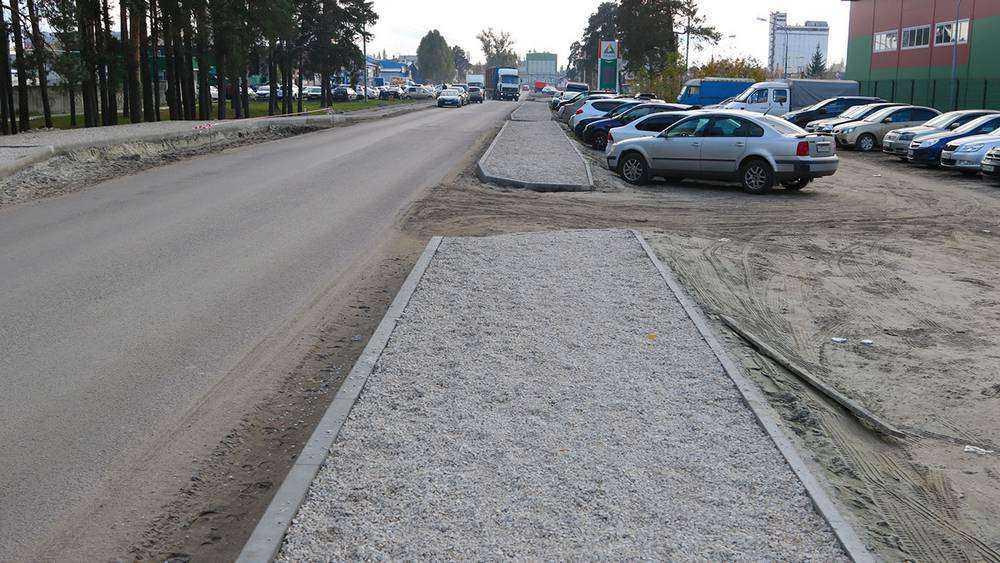 В Фокинском районе Брянска начали ремонт дороги к МРЭО