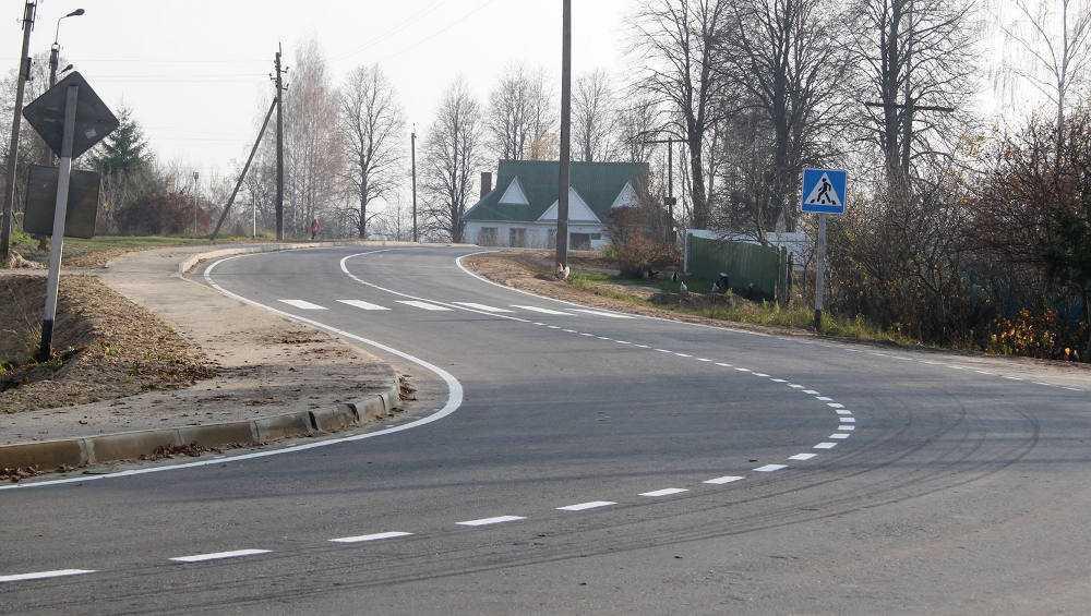 В Брянской области практически завершился сезон дорожных работ