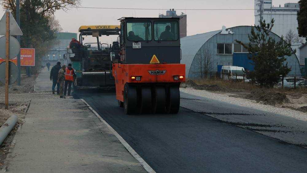 Дорогу к брянскому МРЭО отремонтируют за 17 млн рублей