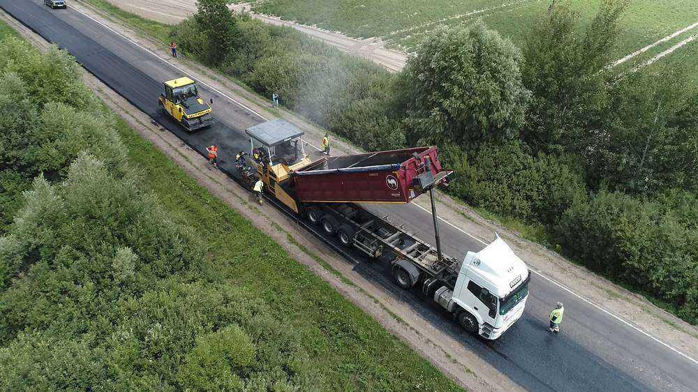 В Брянской области за год построили и отремонтировали 630 км дорог
