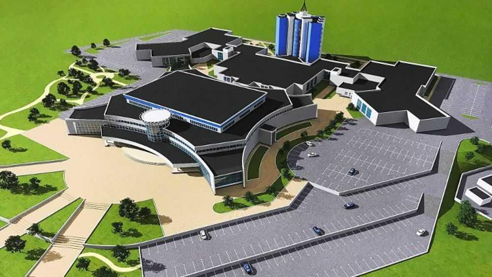 Строительство в Брянске Дворца единоборств вышло на новый этап