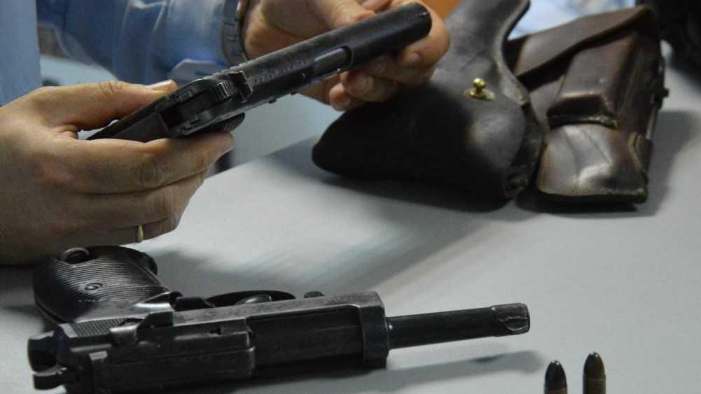 Жители Брянской области сдали оружие и патроны на 800 тысяч рублей