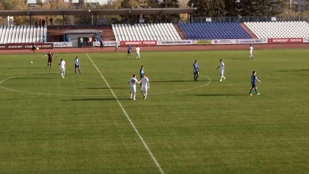 Брянское «Динамо» разгромило в Волгограде своих соперников со счетом 3:0