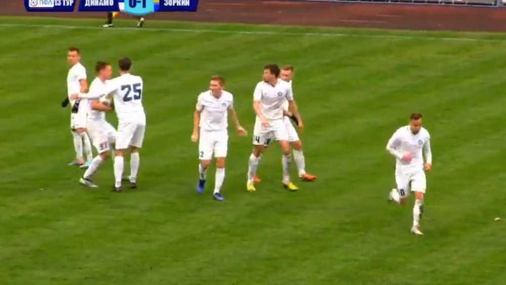 В Брянске «Динамо» на своем поле обыграло красногорский «Зоркий»