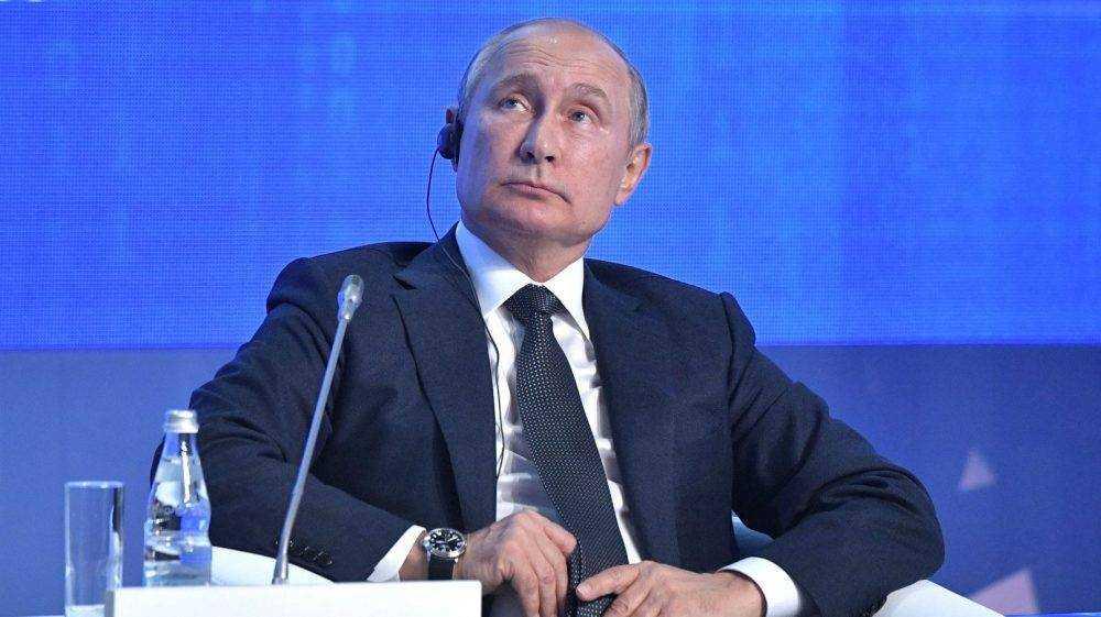 Путин сообщил о дате единого госэкзамена