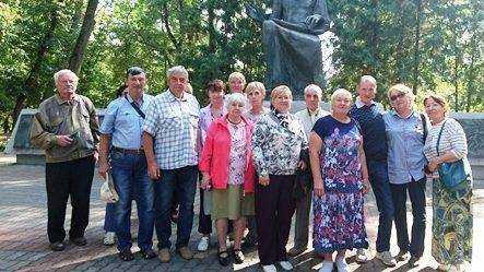 Совет ветеранов «Брянскэнерго» посетил достопримечательности Трубчевска