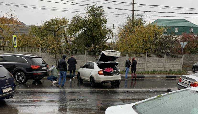 В Брянске возле Городища произошло серьезное ДТП