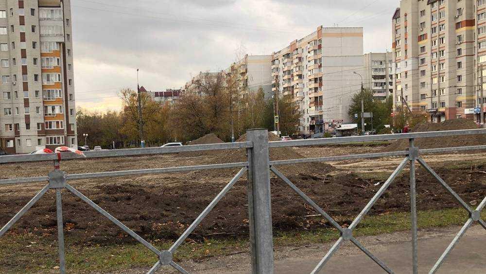 В Брянске вместо песка заметили пирамиды Хеопса на улице Крахмалёва
