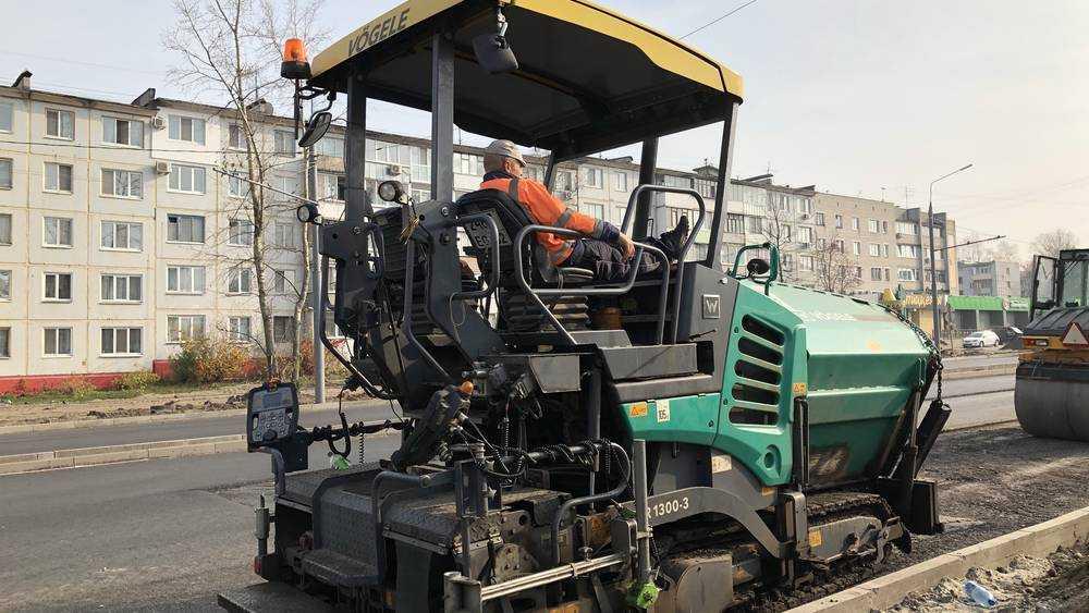 В Брянске реконструкция дороги на Авиационной приблизилась к финишу