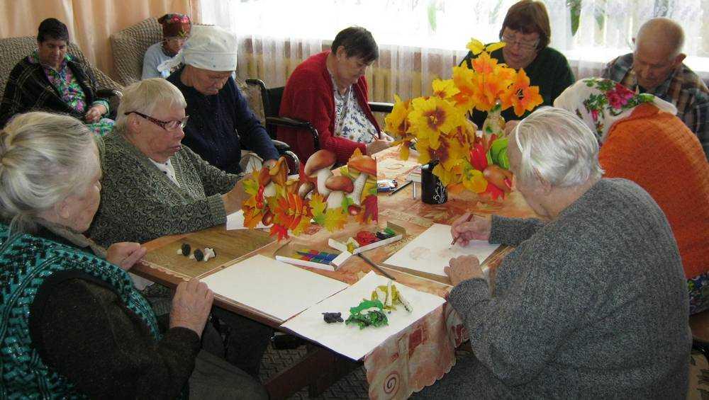 В Новозыбковском доме-интернате научились дарить радость ветеранам