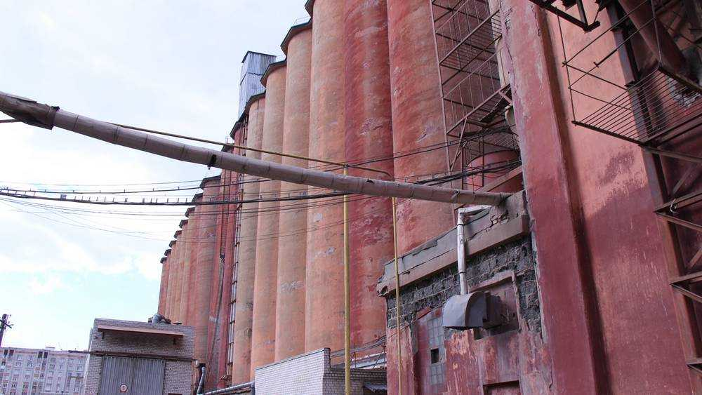 Фасад легендарных башен элеватора «Мелькрукка» обновят в Брянске