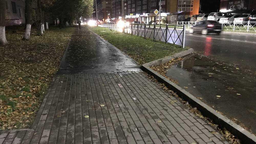 Жители Брянска попросили строить больше тротуаров из плитки
