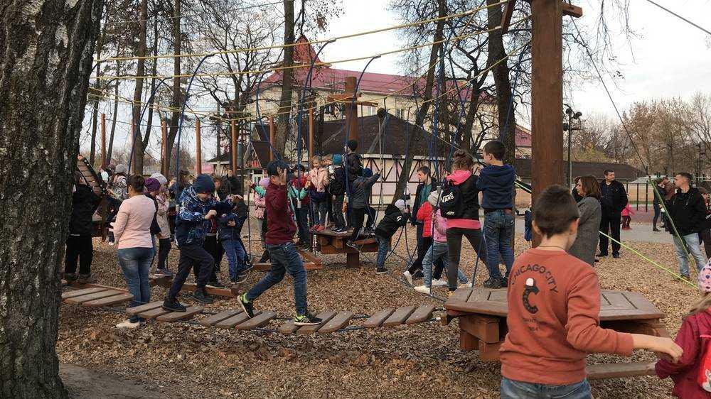 За выходные в обновленном Майском парке побывали тысячи брянцев
