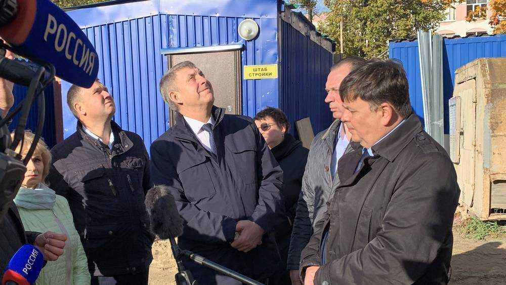 Губернатор призвал брянцев потерпеть из-за строительства дорог