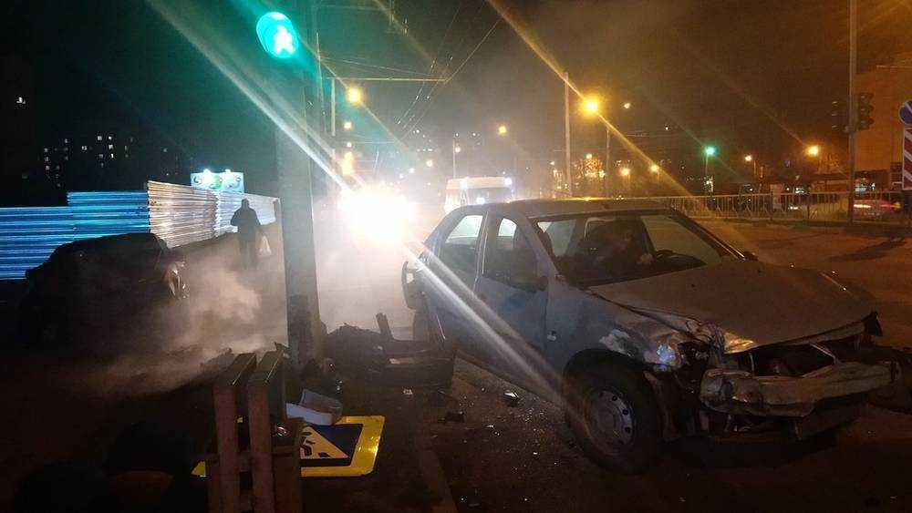 Серьезное ДТП произошло в Брянске на проспекте Станке Димитрова