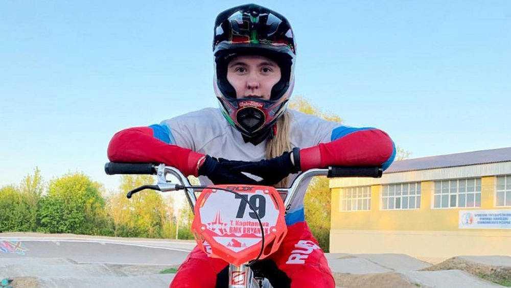 Брянская велогонщица Татьяна Капитанова выиграла Кубок России