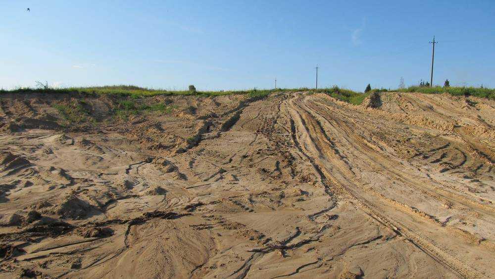 Брянское ОАО «Железнодорожник» заплатило за незаконную добычу песка