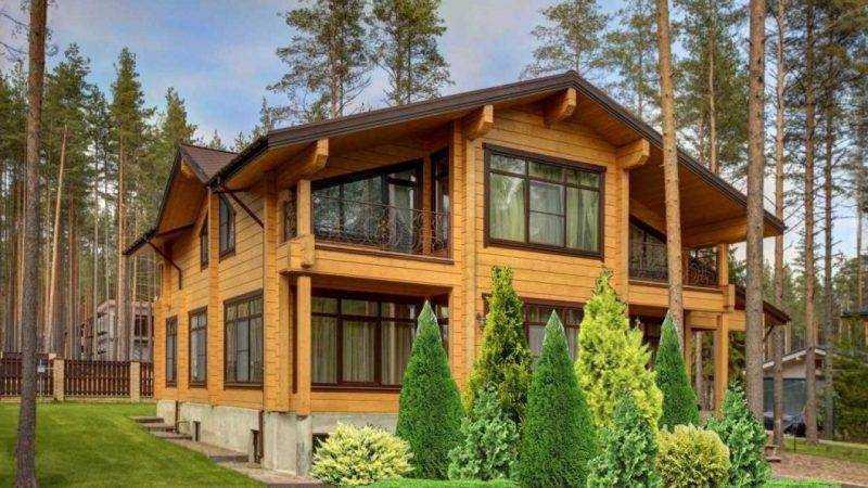 Качественные деревянные дома – «Студия клееного бруса»