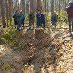 Под Брасовом обнаружили место захоронения расстрелянных фашистами брянцев