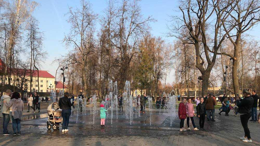 Жители Брянска попросили побыстрее включить фонтан в Майском парке