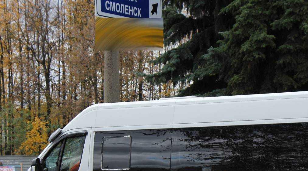 В Брянске стоянка маршруток возле перекрестка стала опасной