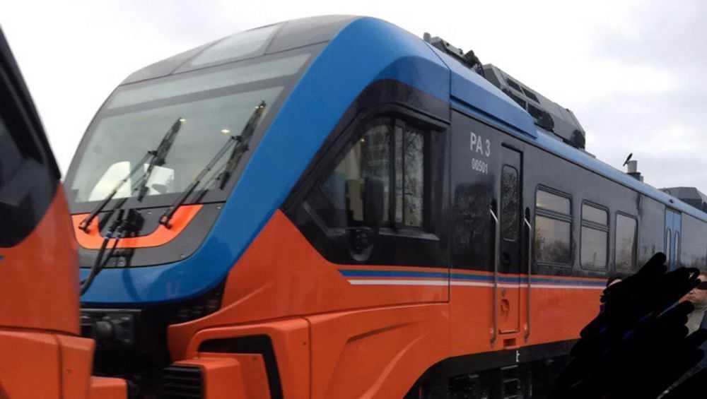 Новый рельсовый автобус стал ходить из Брянска в Комаричи