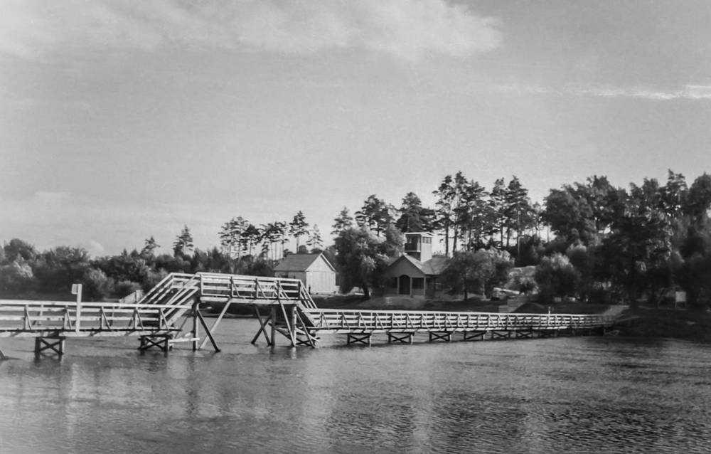 Мост в роще «Соловьи»