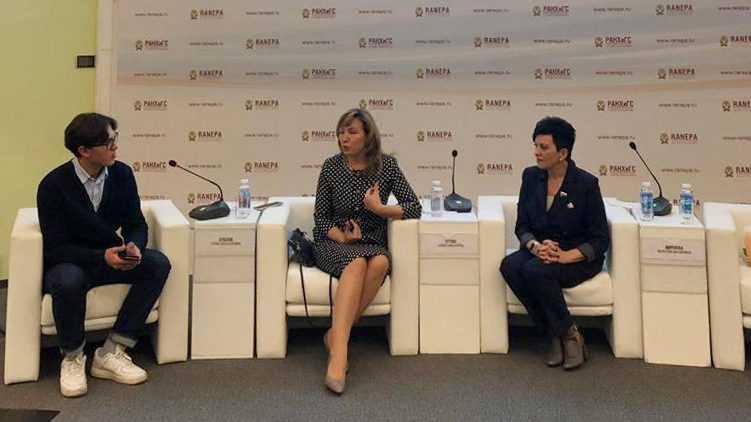 Валентина Миронова обсудила вопросы развития российского образования со студентами РАНХиГС