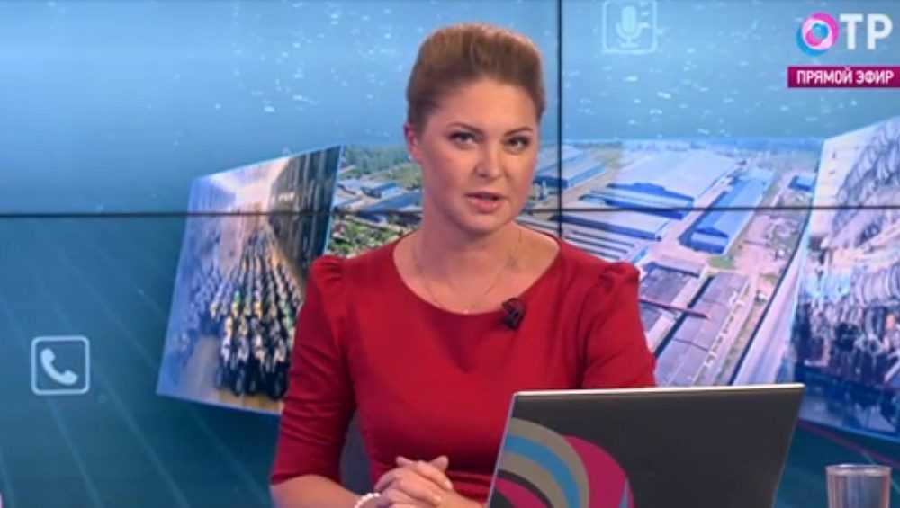 Журналистка ОТР пришла в восторг от брянского велозавода в Жуковке