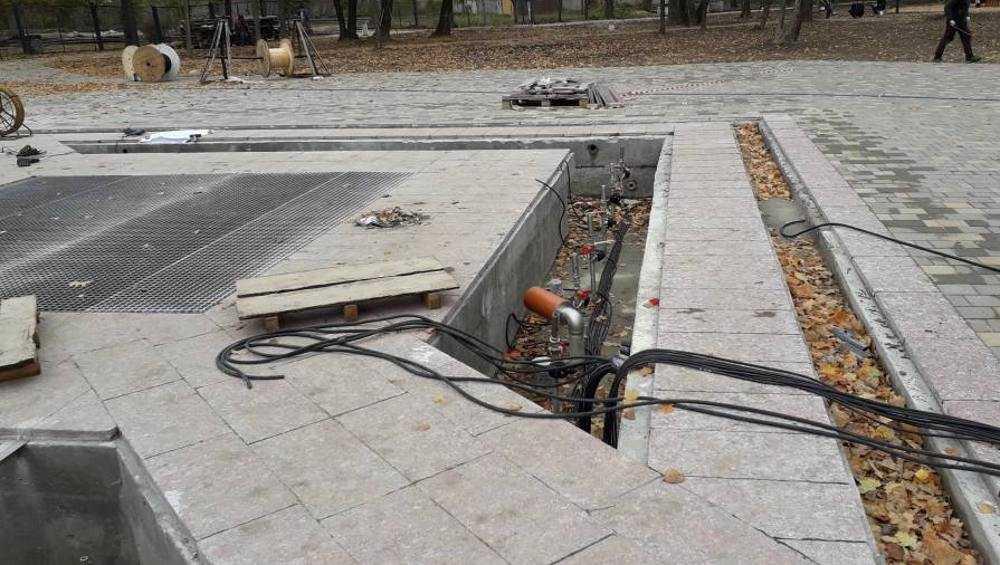 Завтра в бежицком Майском парке запустят новый фонтан
