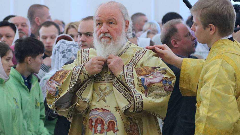 Патриарх Кирилл освятил в Брянске Успенский собор Свенского монастыря