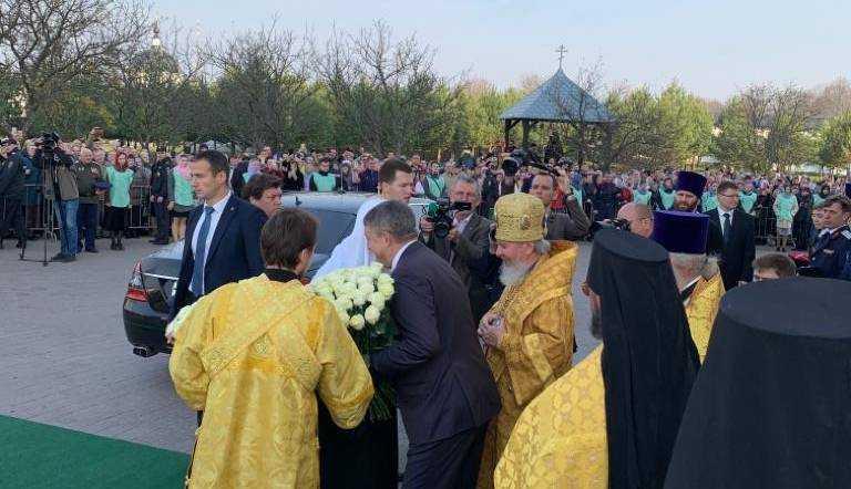 Патриарх Кирилл прибыл в Свенский монастырь Брянска