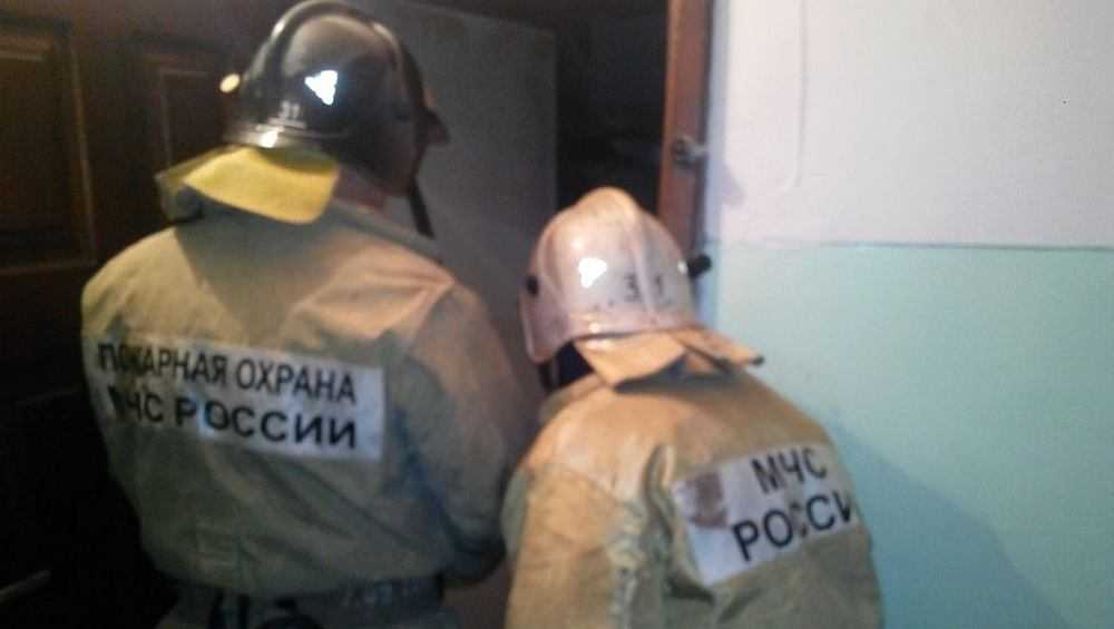 В Трубчевске Брянской области потушили пожар в общежитии техникума