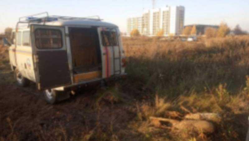 В центре Брянска нашли две авиационные бомбы