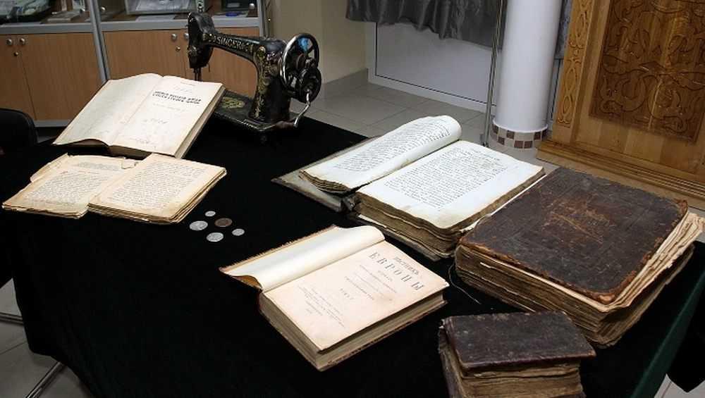 Фонд Брянского краеведческого музея пополнился очередным конфискатом