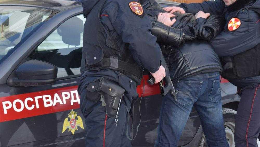 В Брянске росгвардейцы задержали грабителя на выходе из магазина