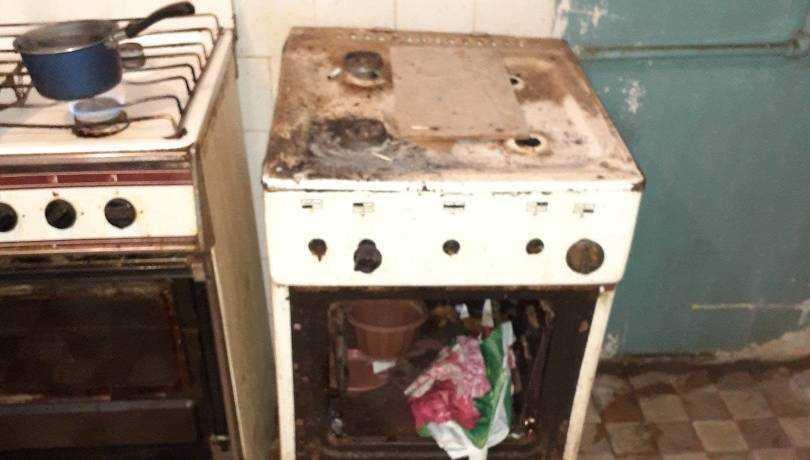 В Брянске сфотографировали ужасающую разруху общежития