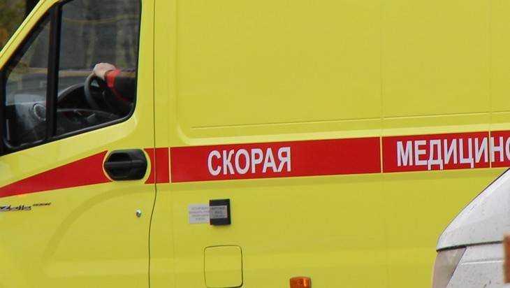 В Брянске кроссовер врезался в дерево – пострадали два человека