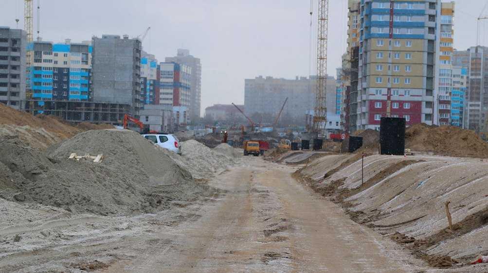 В Брянске на дороге по улице Советской сделают два кольца